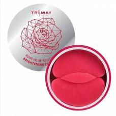 Гидрогелевые патчи Trimay Rose Wine Brilliant Brightening Eye Patch 90 шт.