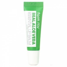 Бальзам для губ с алоэ вера Farmstay Real Aloe Vera Essential Lip Balm 10 мл.