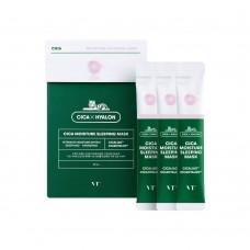 Ночная увлажняющая маска для лица VT Cosmetics Cica Moisture Sleeping Mask 4 мл.