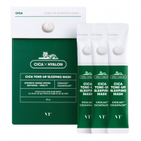 Ночная маска для сияния кожи VT Cosmetics Cica Tone-Up Sleeping Mask 4мл.