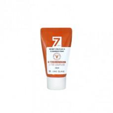 Пенка для умывания с витаминами May Island 7 Days Secret Vita Plus-10 Cleansing Foam 30 мл.