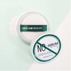 Рассыпчатая матирующая пудра для лица с центеллой 1004 Laboratory No-sebum Finish Powder 6 гр.