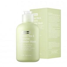 Энзимная пудра для умывания By Wishtrend Green Tea & Enzyme Powder Wash 70 гр.