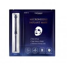 Маска для лица с микроиглами спикул TRIMAY Microneedle Implant Mask 1,5 мл/30 мл.