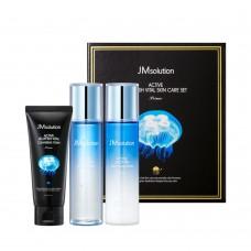 Набор средств для лица с экстрактом медузы JMsolution active jellyfish vital skin care set
