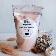 Розовая гималайская соль для ванны мелкого помола Salt of the Earth 1 кг.