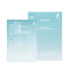 Двухэтапная тканевая маска с кислотами JMSOLUTION GLOW FILL SPA DOUBLE CARE MASK 1,5/30 мл.
