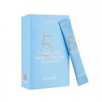 Шампунь с пробиотиками для объема волос MASIL 5 Probiotics Perfect Volume Shampoo 8 мл.