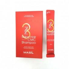 Шампунь для волос с керамидами MASIL 3 Salon Hair CMC Shampoo 8 мл.