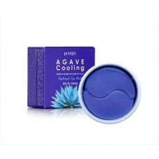 Гидрогелевые патчи Petitfee Agave Cooling Hydrogel Eye Mask 60 шт.
