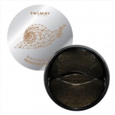 Гидрогелевые патчи TRIMAY Black Snail Gold Nutrition Eye Patch 90 шт.